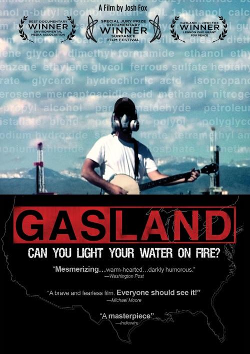 Portada del DVD de Gasland