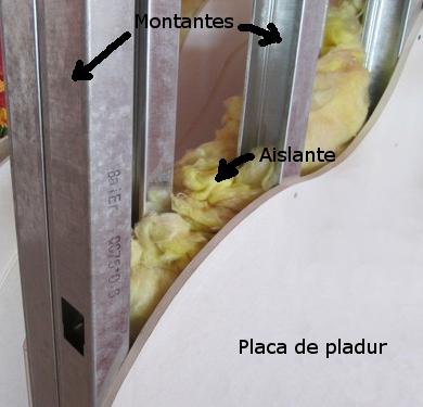 Pladur antonio narejos for Tabiques de yeso laminado